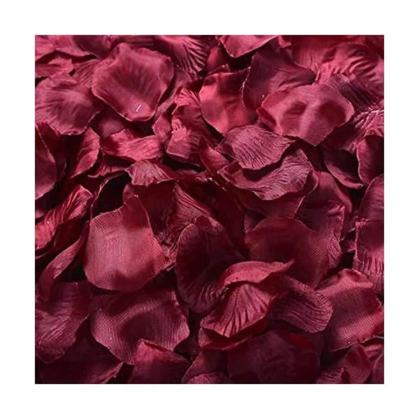 HappyShop-Silk-Rose-Petals-4000pcs-Artificial-Flower-Petals-for-Wedding-Decoration-Party-Favors-Hotel-Home-Decor-Dark-Red