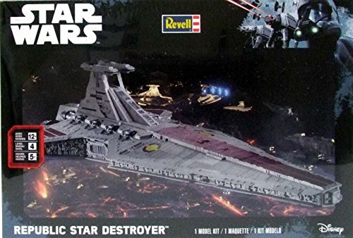 RMX856458 Revell Star Wars Republic Star Destroyer [MODEL BUILDING KIT] (Star Wars Model Kits compare prices)