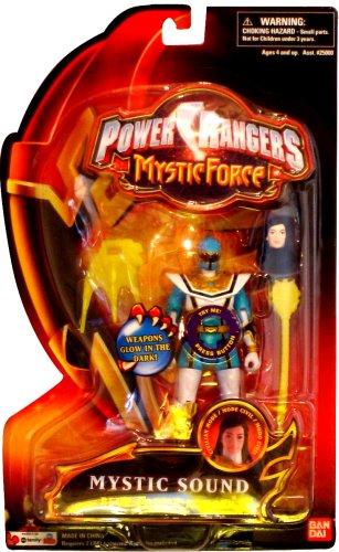 Power Rangers Mystic Force Sound Action Figure Blue Power Ranger -