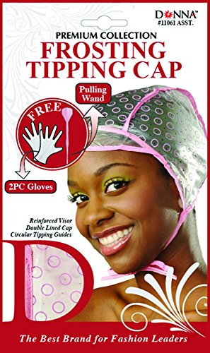 Donna's Premium Frosting Tipping Cap Free 2PC Gloves And Pulling Wand (Random Colors)