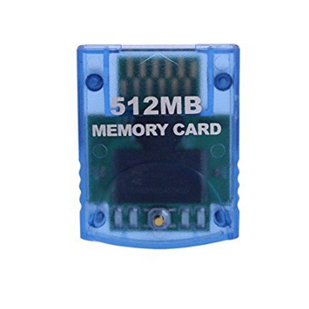 RatSmart Memory Card for Nintendo Gamecube Wii Consoles 512 MB 8192 Blocks by RatSmart