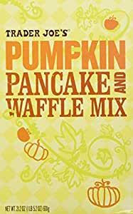 Trader Joes Pumpkin Pancake and Waffle Mix