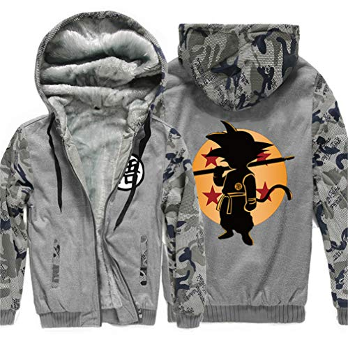Dragon Sweat Hoodie Plus Hiver Velours 13 À Cosplay Veste Épais shirt Hommes Anime Sweat Ball Capuche Cosstars dFtxgOO