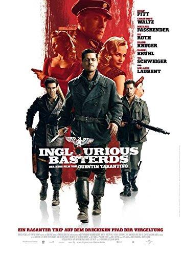 Inglourious Basterds Poster German B Brad Pitt Diane Kruger Melanie Laurent