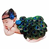 PGXT Newborn Baby Girls Boys Peacock Costume Photo Photography Prop Outfits