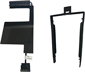 Hard Driver HDD Cable Connector + Caddy/Enclosure Bay For Lenovo ThinkPad P50 Secondary HDD Left Side (Lenovo Thinkpad Mobile Workstation Storage Kit)