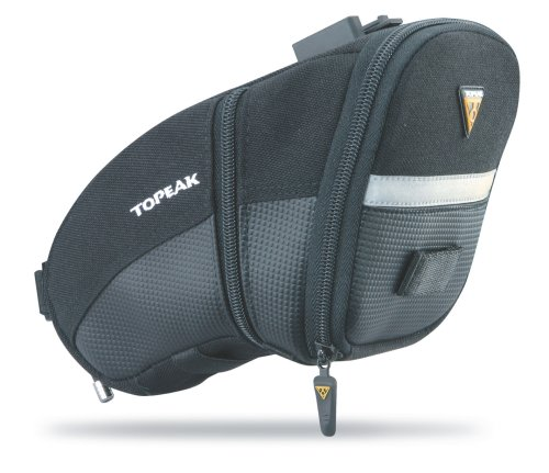 Topeak Aero Wedge Pack, w/Fixer F25, Large