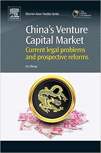 Download free ebooks online pdf China's Venture Capital Market: Current Legal Problems and Prospective Reforms (Chandos Asian Studies Series) B00QTIDZBS PDF