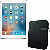 APPLE 9.7-inch iPad Pro Wi-Fi 32GB - Gold MLMQ2CL/A + 10.1 Padded Case For Tablet Bundle