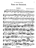 Foote, Arthur : Tema con variazioni (A minor) for string quartette, op. 32.