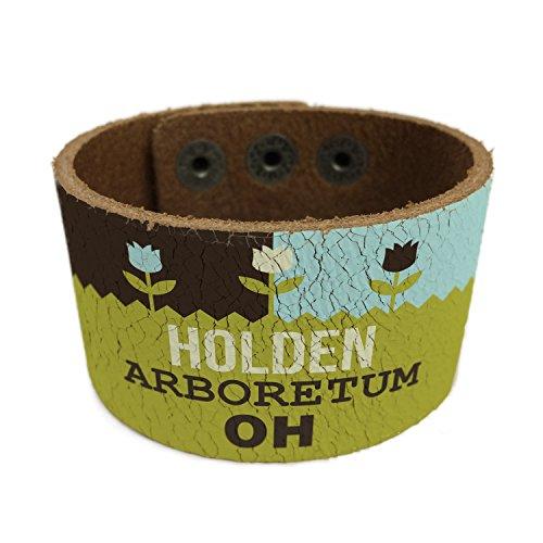 neonblond-us-gardens-holden-arboretum-oh-leather-cuff-unisex-women-mens-bangle-bracelet