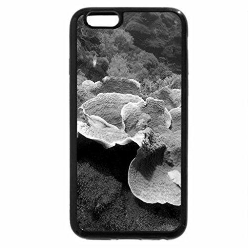 iPhone 6S Plus Case, iPhone 6 Plus Case (Black & White) - Gorgeous Coral Reef