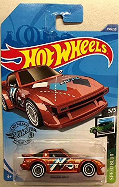 Hot Wheels #167//250 MAZDA RX-7 Grün 2019 - HW Speed Graphics Serie 2//10