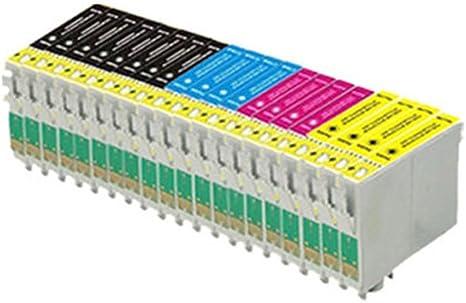 20 compatibles cartuchos de tinta de impresora (4 series de 4 + 4 ...