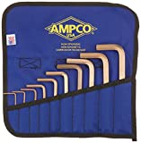 Ampco Safety Tools M-42M Hex Key, Non-Sparking, Non-Magnetic, Corrosion Resistant, Metric