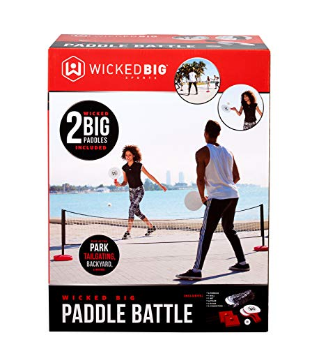 Wicked Big Sports Paddle Battle Giant Outdoor Ping Pong and Pickle Ball Set