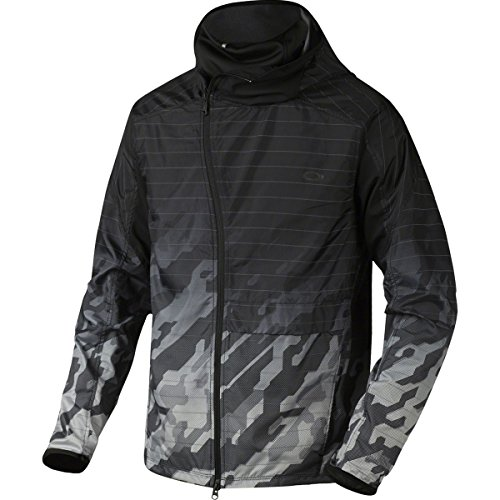 Oakley Mens 3 N 1 Camo Training Jacket Large Jet - Camo Jacket Oakley