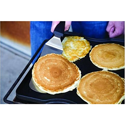 Professional Spatula Set: Stainless Steel Pancake or Hamburger Turner for Grill or Griddle by Camp Chef (Image #2)