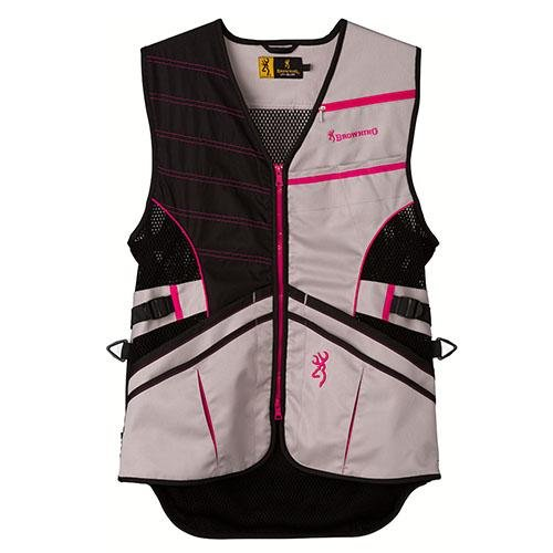 Browning Ace Shooting Vest, Hot Pink, Small by Browning (Image #1)