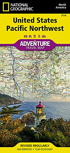 United States, Pacific Northwest (National Geographic Adventure Map)