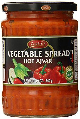 Zergut Ajvar, Hot, 19 Ounce ()