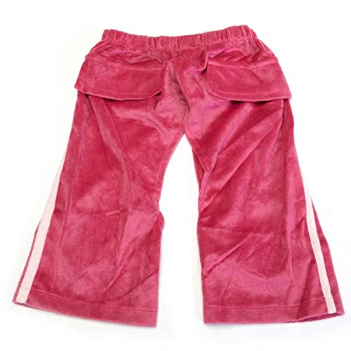 East Side Collection Velour Royalty Medium Dog Sweatpant, Princess, Pink ()