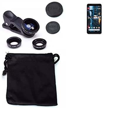 new styles 449fa 030d9 K-S-Trade 3in1 Google Pixel 2 XL auxiliary Camera Lens Set Fish Eye ...