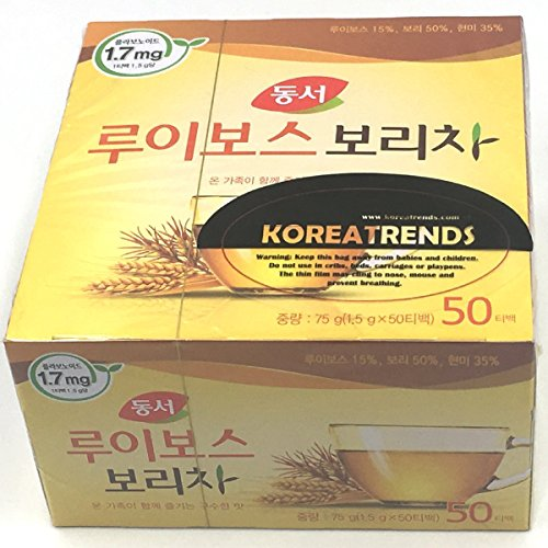 - Dongsuh Food Rooibos Roasted Barley Tea 75g (1.5 g x 50 bags)