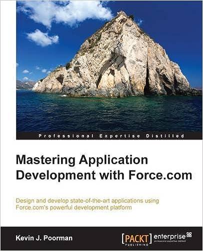 Elektronische Bücher kostenlos zum Download Mastering Application Development with Force.com in German MOBI