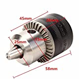 Letbo New 1-10mm Metal Stable Keyed Drill Chuck