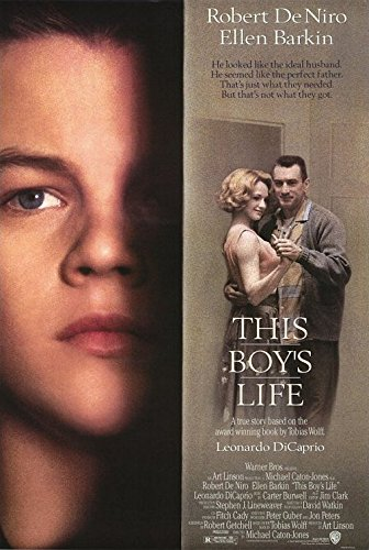 This Boy's Life DS 27x40 Original Movie Poster Leonardo Dicaprio Robert De NIRO