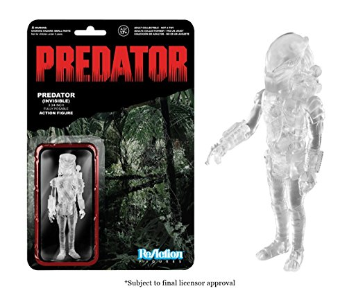 Funko Reaction Figures: Predator 3 3/4-inch Fully Posable Action Figure (Arcade Version) 19808743