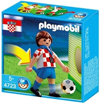 PLAYMOBIL  Football Player Croatia dp BBRB