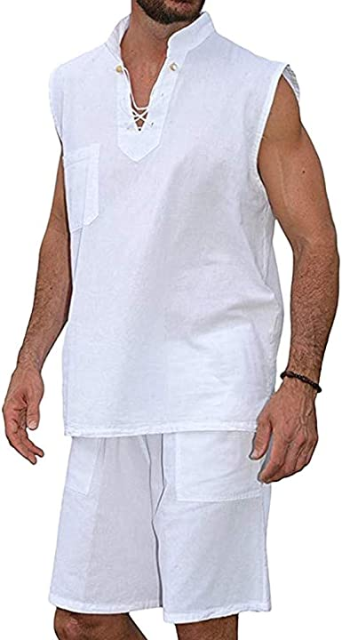 pantalones cortos + Manga corta Conjunto de hombres pantalones cortos deporte hombre camisetas deporte hombre camisa hombre slim fit blusa hombre manga corta Camiseta casual para hombre verano: Amazon.es: Ropa y accesorios