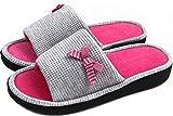 LongBay Women's Memory Foam Slippers Open Toe Comfy Slip On Home Shoes