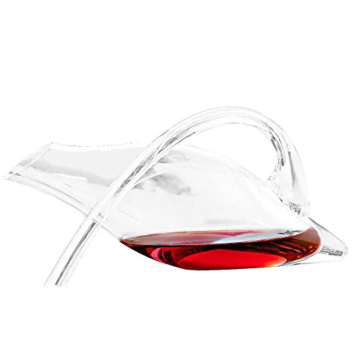 Wine Enthusiast Break-Resistant Fusion Duck Decanter