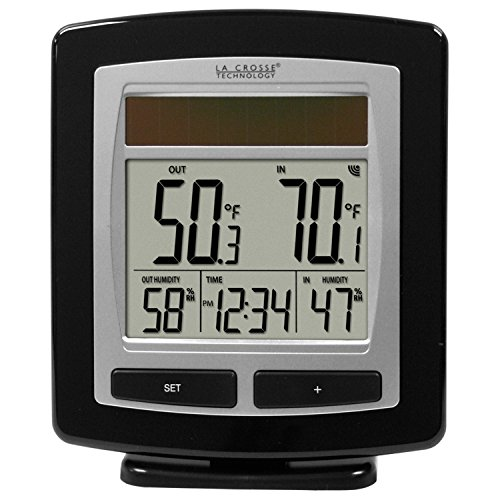 (La Crosse Technology WS-6010U-IT Solar Temperature & Humidity Station)