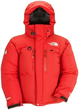 : The North Face Men's Himalayan Parka, red (Size