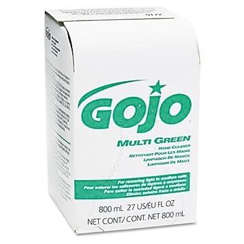 GOJO productos – GOJO – Multi limpiador de la mano verde 800-ml Bag-