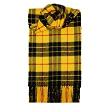 MacLeod Dress Tartan Scarf Modern Lambswool