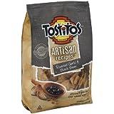 Tostitos Artisan Recipes Tortilla Chips Black Bean & Roasted Garlic 9.75 Oz (Pack of 12)