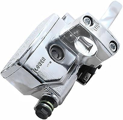 One Pair. Color: Black//Silver Brake Master Cylinder Lever for Honda NV400 NV600 NV750 VF750 VT250 VT750 VT1100 VT1300
