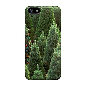 Protective Tpu Case With Fashion Design For Iphone 5/5s (xmas Christmas)