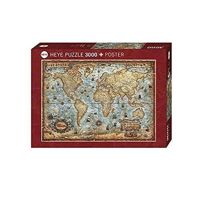 Heye Puzzle Il Mondo 3000 Pezzi Vd 29275