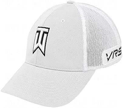 Nike Tiger Woods Tour Gorra de Malla (- 638294-010, Blanco/Negro ...
