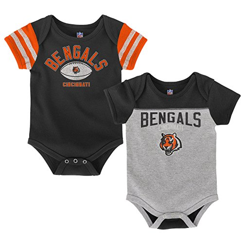 Cincinnati Bengals Newborn Creeper - OuterStuff NFL Infant