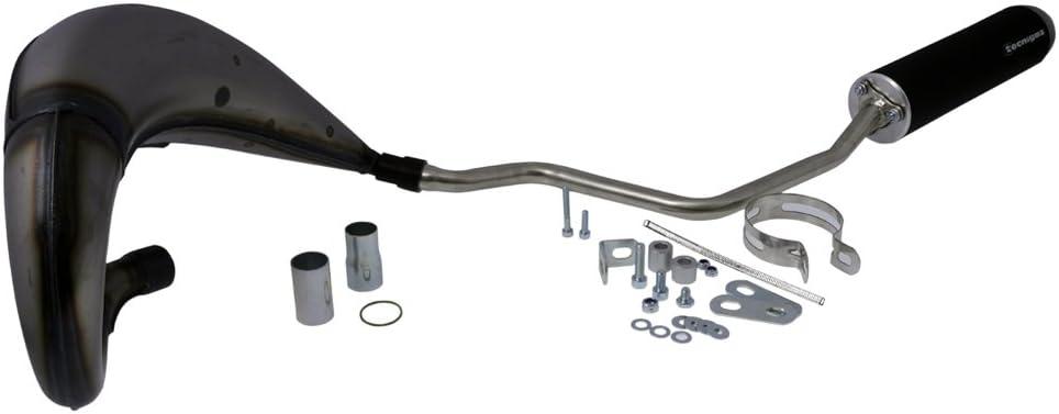 Auspuff Tecnigas E Nox Steel Für Yamaha Dt 50 Auto
