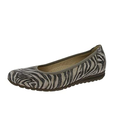 7e598f54f3 Gabor Shoes Women's Comfort Sport Ballet Flats, Multicolour (Antikrosa 32),  2.5 UK