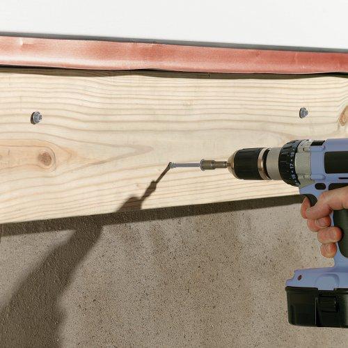 FastenMaster FMLL358-50 LedgerLOK Ledger Board Fastener, 3-5/8 Inches, 50-Count