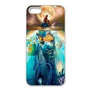 Personalized Custom Cartoon The Little Mermaid Protective Snap-on Hard Case Cover for iPhone 5 & 5S - 5STLM06 by runtopwell